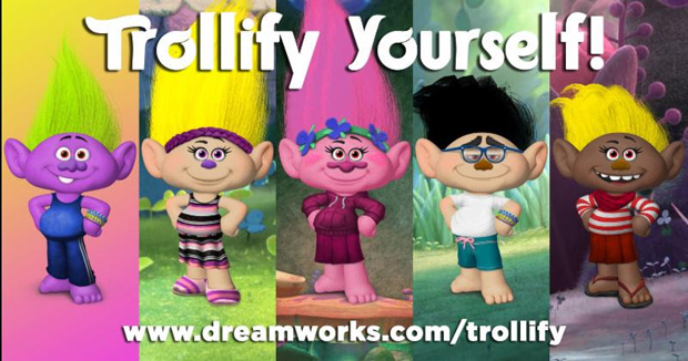 Trolls New Trailer And Trollify Yourself Tool Arrive