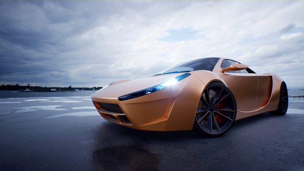 V-Ray for Unreal Update 1