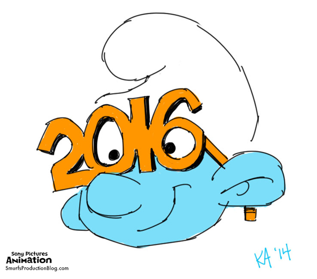 Untitled Smurfs Movie Pushed to 2016