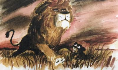Vance Gerry Lion King concept art