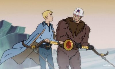 "Hank and The Action Man (both voiced by Jackson Publick) run into each other dressed as Star Wars' Lando and Barbarella's Mark Hand in S7 E10 ""The Saphrax Protocol,"" The Venture Bros. de facto series finale."