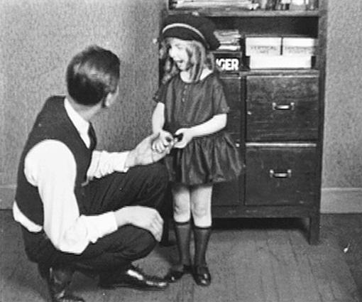 Walt Disney and Virginia Davis