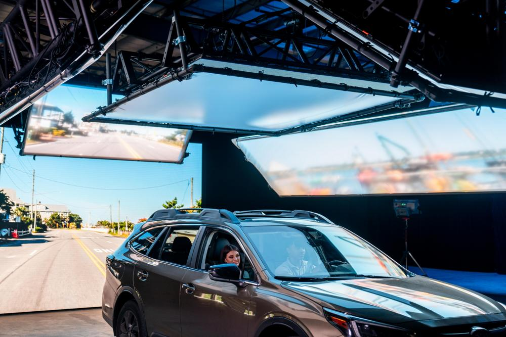 Virtual LED stage