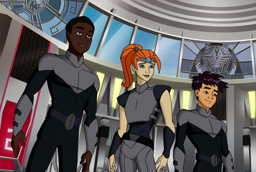 New 'Voltron Force' Promo Forms the Legs, Arms, Torso and Head [Video]