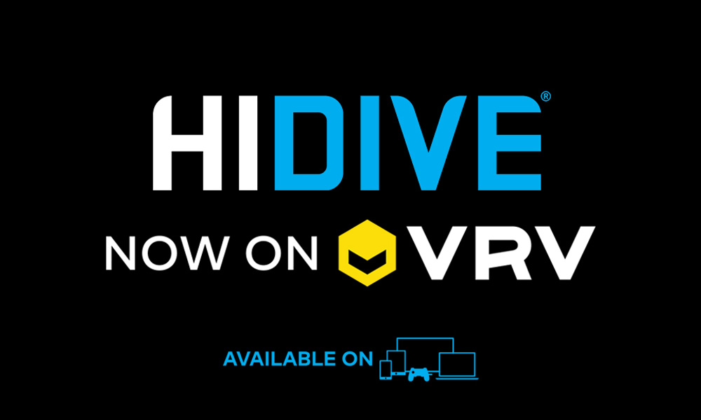 HIDIVE on VRV