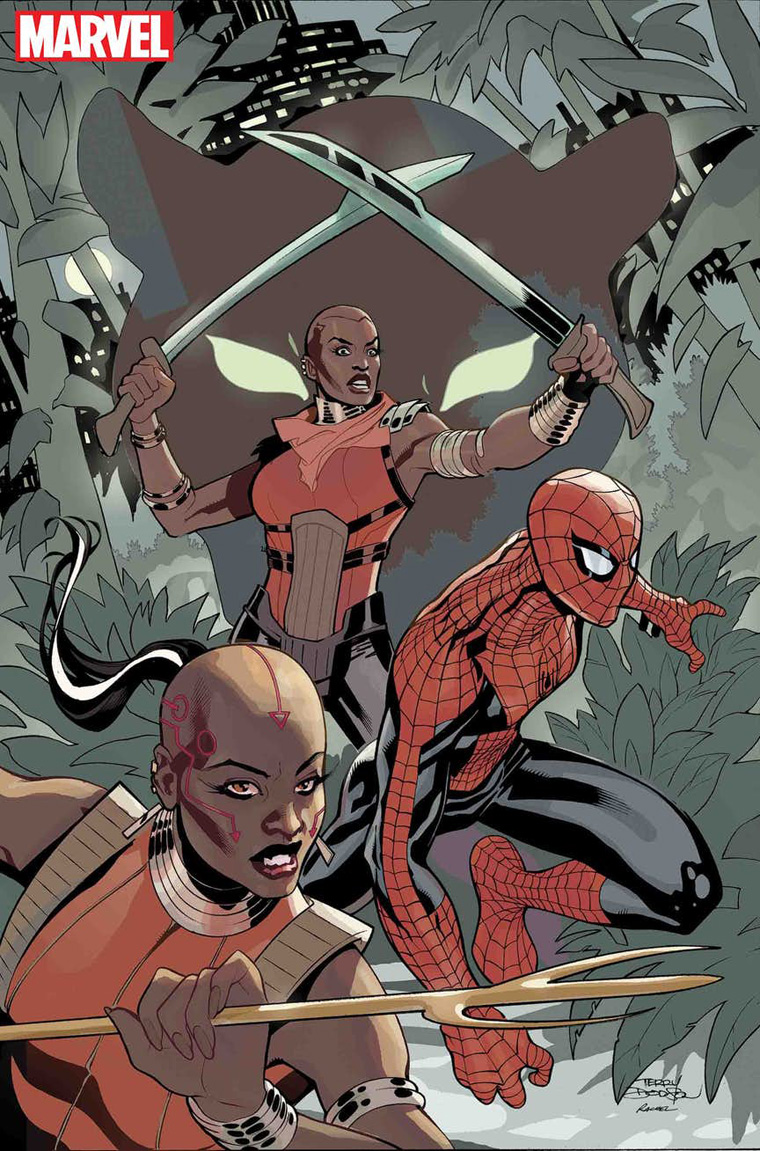 Wakanda Forever: The Amazing Spider-Man cover by Terry Dodson (Marvel Comics)