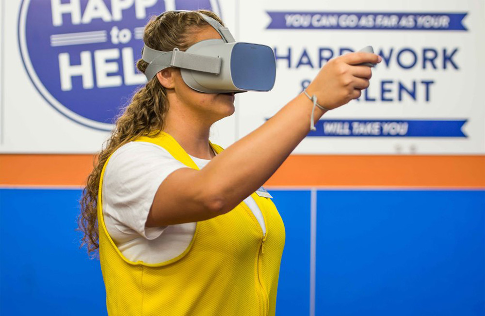 Walmart VR training