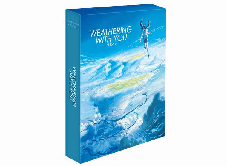 Weathering With You UHD Blu-ray