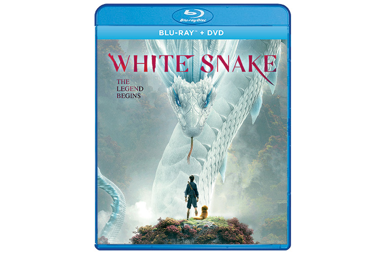 White Snake Blu-ray and DVD