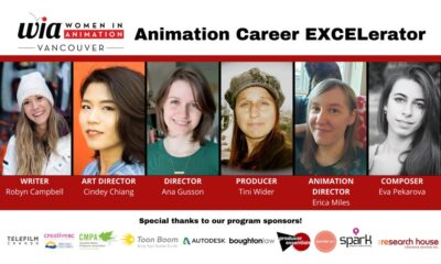 WIA Animation Career EXCELerator
