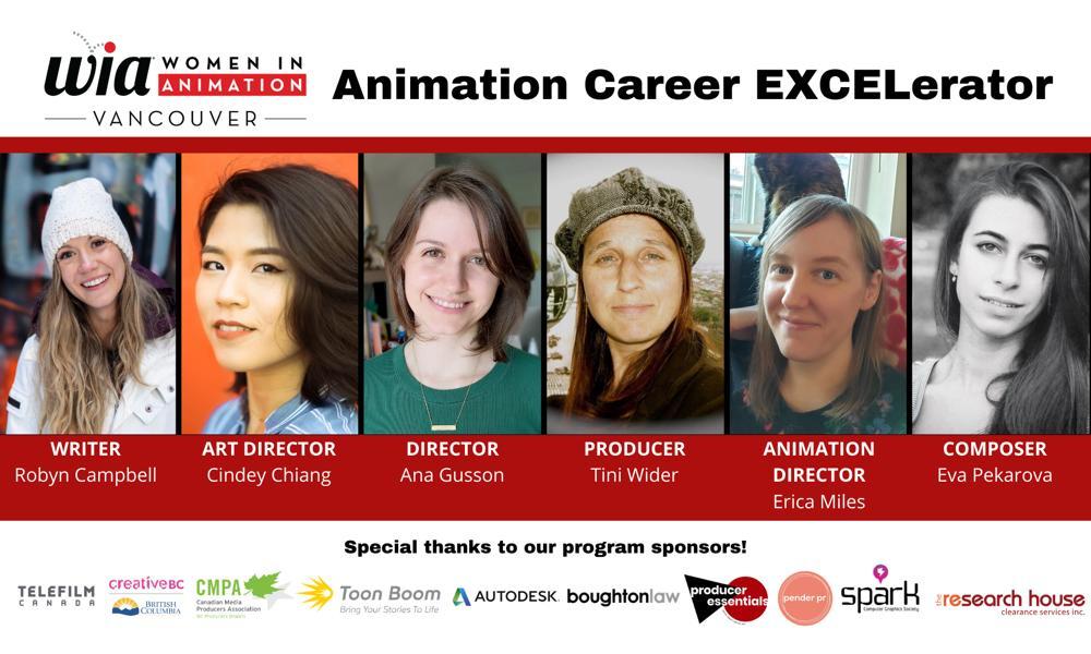 WIA Animation Career EXCELerator