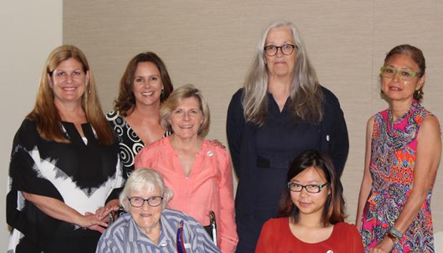 Susan Bin with Women in Animation