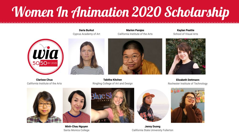Women in Animation 2020 Scholarship