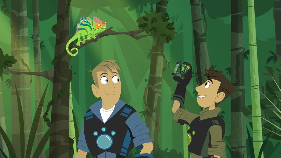 Wild Kratts' on Stampede Worldwide   Animation Magazine