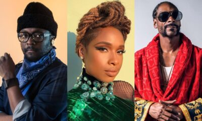 will.i.am, Jennifer Hudson, Snoop Dogg