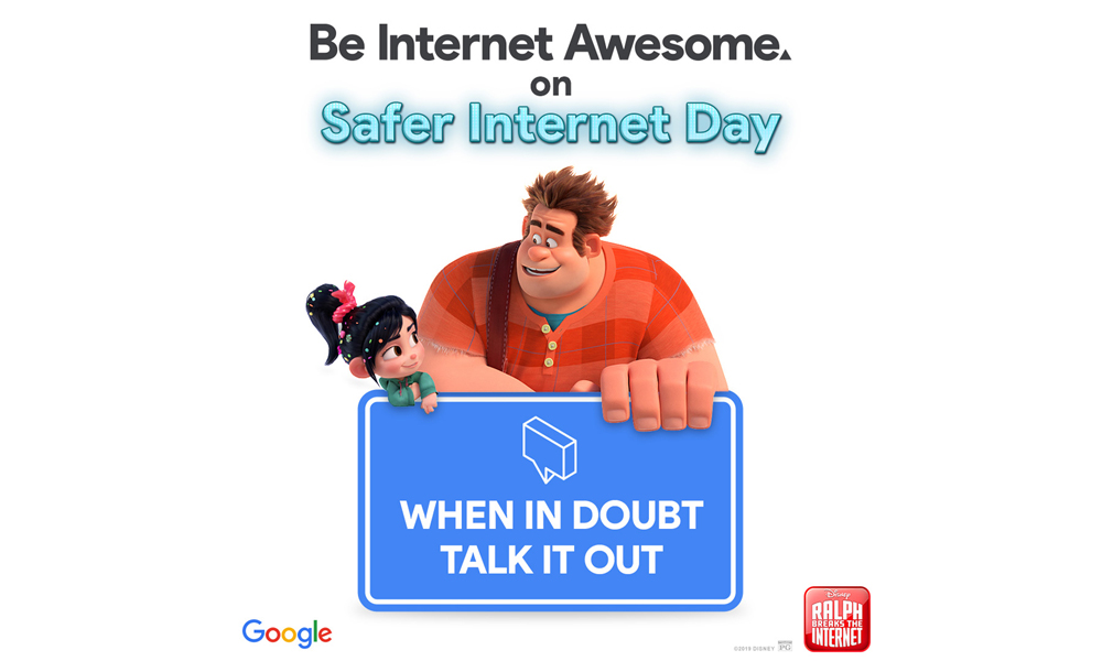 Google's Be Internet Awesome program - Ralph Breaks the Internet