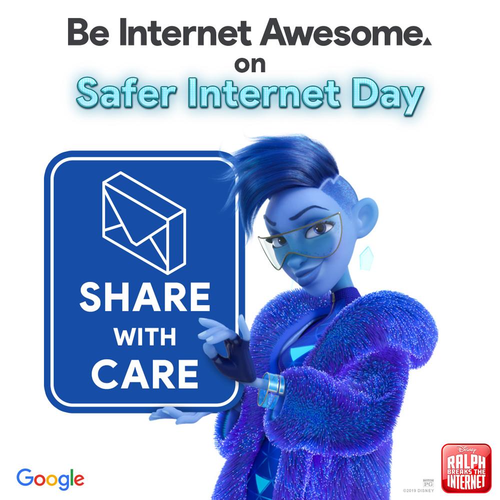 Google's Be Internet Awesome program - Ralph Breaks the Internet