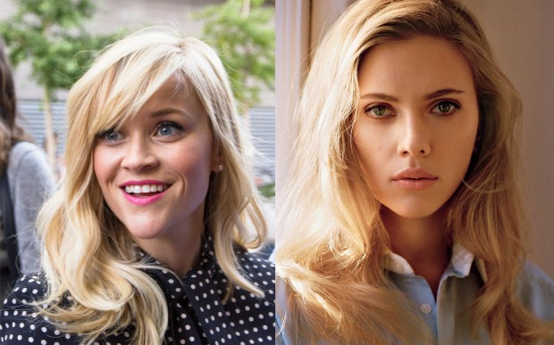 Reese Witherspoon and Scarlett Johansson