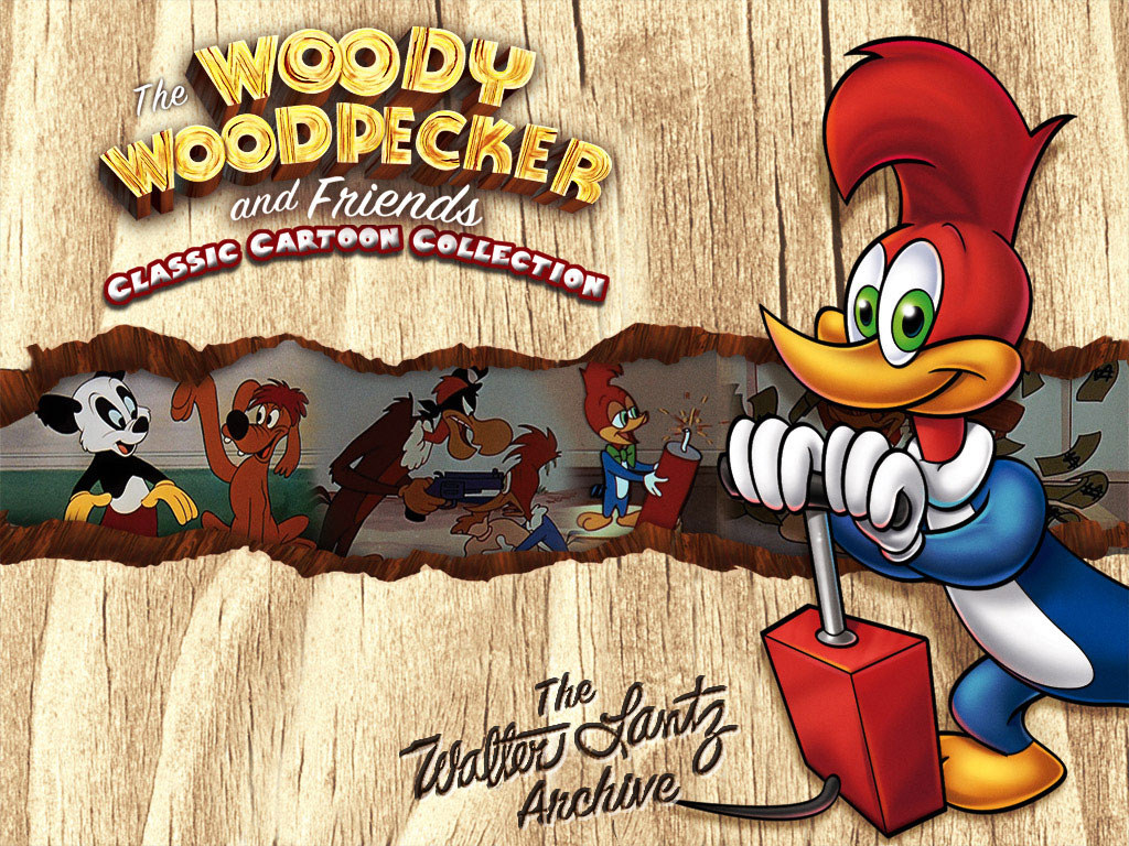 The New Woody Woodpecker Show Characters Woody Woodpecker