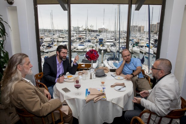 Lunch- The scenic California Yacht Club is an ideal setting for casual meetings & mingling during the lunch break.