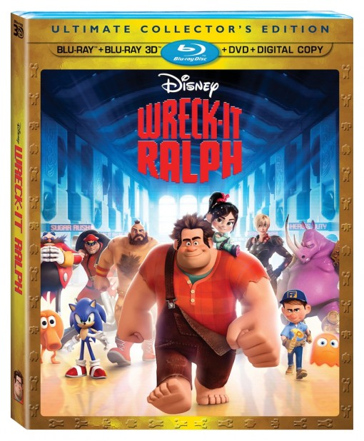 Wreck-It Ralph DVD/Blu-ray