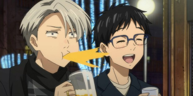MAPPA's Yuri!!! On ICE won Anime of the Year at the first Crunchyroll Anime Awards. The ice skating anime generated a lot of buzz for its depiction of the heroes' same-sex relationship.