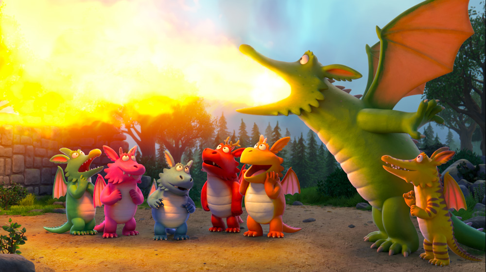 Magic Light Pictures Flies High with 'Zog' Special