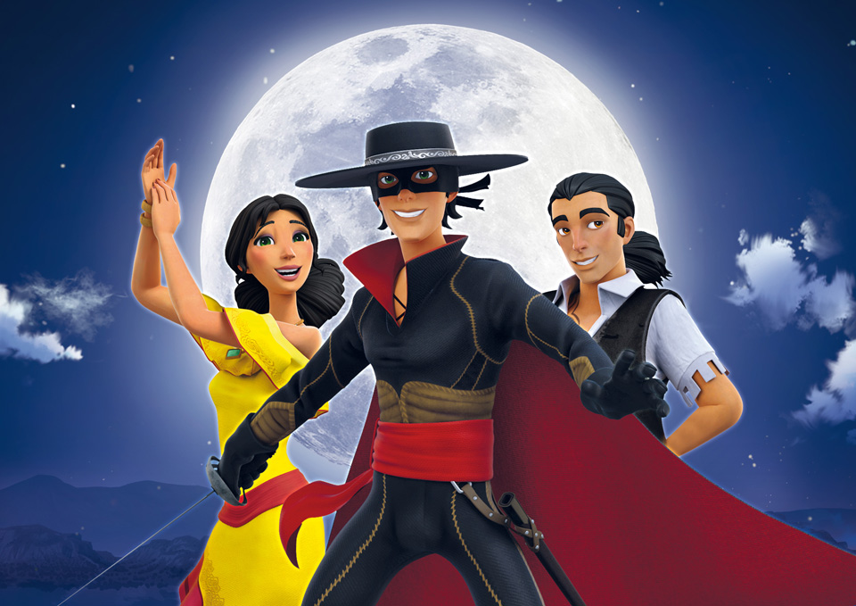 'zorro the chronicles launches in u s on hulu