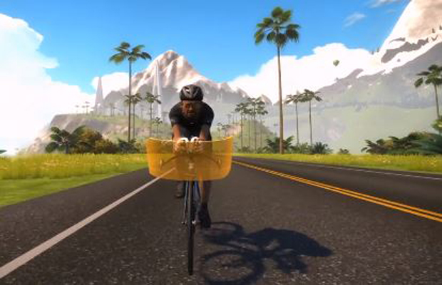 Zwift Bicycle Simulation